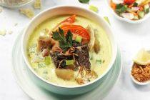 Resep Masakan untuk Buka Puasa, Soto Ayam Kuah Santan