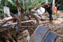 Hunian Pengungsi Bencana Likuefaksi Palu-Sigi Digempur Banjir