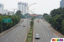 PSBB, Lalu Lintas Jalan Tol Dalam Kota Berkurang Hingga 60 Persen