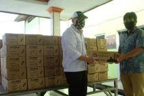 Pandemi Corona, Astra Honda Motor Bagikan 1.100 Paket Sembako