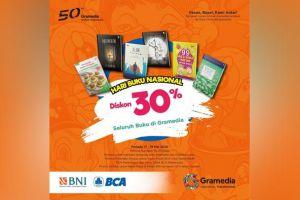 Mulai Hari Ini, Gramedia Diskon 30 Persen Buku Semua Penerbit