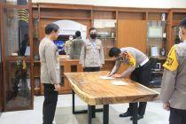 Dirlantas Polda DIY Tandatangani Pakta Integritas Birokrasi Bersih Korupsi