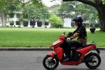 Lelang Ulang Motor Jokowi Dimenangkan Putra Harry Tanoesoedibjo