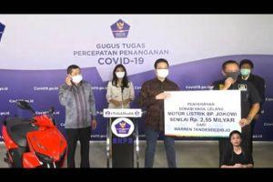 Gunakan Uang Tabungan, Ini Alasan Warren Ikut Lelang Motor Jokowi