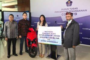 Menang Lelang Motor Jokowi, Warren Tanoesoedibjo: Saya Ingin Membantu Bangsa