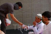 Salat Idul Fitri, Pengurus Masjid Sediakan Fasilitas Cuci Tangan