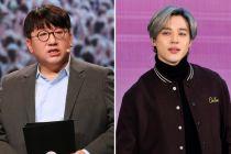 Tatapan Sayang Bos Big Hit Nonton Jimin BTS Manggung Jadi Bahan Gosip