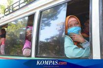 Kawasan Wisata Lombok Barat Tutup, Ratusan Kendaraan hendak Berkunjung Dipaksa Putar Balik