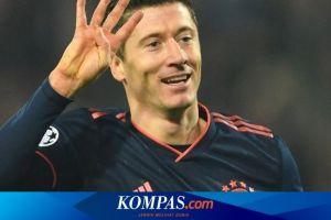 Cetak 2 Gol ke Gawang Duesseldorf, Lewandowski Pimpin Top Skor Eropa