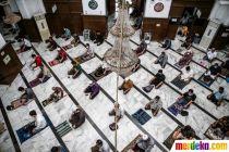 Masjid Cut Mutia Kembali Gelar Salat Jumat di Masa Transisi