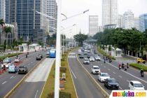 Aktivitas Jalan Protokol Ibu Kota di Masa Transisi