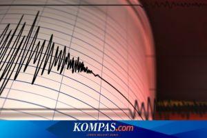 Gempa Hari Ini: M 5,7 Guncang Samudera Hindia, Pantai Barat Sumatera