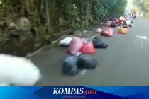 Viral Video Tumpukan Sampah di Jalan di Ciputat, Warga Sebut Itu Terjadi Setiap Pagi