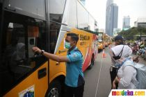 Dishub Kerahkan 50 Bus Sekolah untuk Urai Lonjakan Penumpang KRL