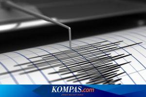 Gempa Hari Ini: M 6,3 Guncang Teluk Tomini Sulawesi Terasa dengan Skala IV MMI