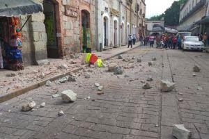 Gempa Meksiko Rusak 4 Situs Arkeologi dan 500 Rumah