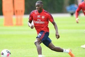 Southmapton vs Arsenal 0-2, Berkat Gol Nketiah Willock