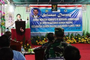 Menkominfo Tinjau Utilisasi Akses Internet di Flores Timur