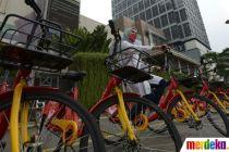 Uji Coba Layanan Bike Sharing di Jakarta