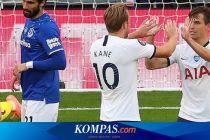 Hasil Liga Inggris Tottenham Vs Everton, Pasukan Jose Mourinho Menang Susah Payah