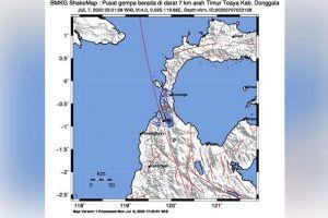 Dua Gempa Pagi Ini: Dalam di Jepara, Dangkal di Donggala