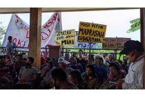 Warga Mojokerto Demo, Tolak Proyek Overpass Perlintasan Sebidang KA