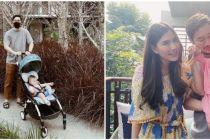 8 Momen Syahnaz ajak anak kembar liburan, Zayn & Zunaira bikin gemas
