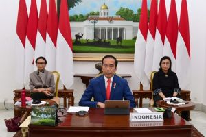 Presiden Jokowi Lantik 881 Praja IPDN Menjadi CPNS Secara Virtual