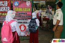 Sekolah di Bekasi Lakukan Uji Coba Pembelajaran Tatap Muka