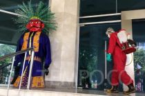 Alasan DKI Mau Semprot Disinfektan Balai Kota Jakarta Tiap Pekan