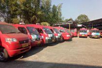 Tekan COVID-19, Suzuki Semprot Fogging Disinfektan Angkot di Jakarta Utara