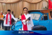 Hari Pertama Pendaftaran Pilkada Tangsel, Paslon Muhamad-Sara Naik Opelet dan Pendukung yang Bekerumun