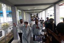 Pasangan Haris-Sani Jalani Tes Kesehatan di RSUD Raden Mattaher Jambi