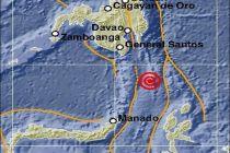 Gempa Bumi Tektonik 5,4 SR Guncang Melonguane Kepulauan Talaud
