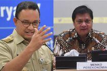 Beda Pernyataan Airlangga Hartarto dengan Anies Baswedan Soal Operasional Kantor
