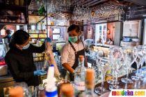 Persiapan Bar di New Delhi Kembali Buka di Tengah Pandemi