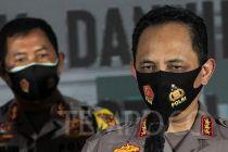 Wakapolri dan Kapolda Metro Jaya Tinjau Pemakaian Masker di Tanah Abang