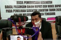 Tak Lolos Tes Kesehatan, KPU Sultra Sebut Bapaslon bisa Diganti