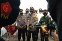Kapolda Metro dan Pangdam Jaya Pantau Operasi Yustisi di Jakarta Utara