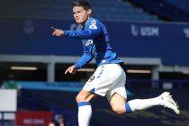 Debut Manis James Rodriguez Antar Everton ke Puncak Klasemen Liga Inggris