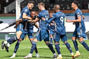 Hasil Carabao Cup: Menang 2-0, Arsenal Singkirkan Leicester City