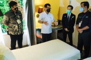 Fasilitas Hotel Isolasi Pasien Covid-19 Mulai Digunakan