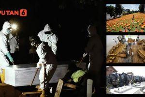 INFOGRAFIS: Tembus 1 Juta, Angka Kematian Covid-19 Dunia